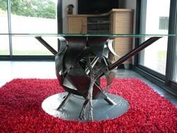 sculpture acier, création de mobilier design en acier,création de ...